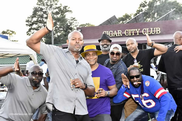 Atlanta Cigar Week 90's Party